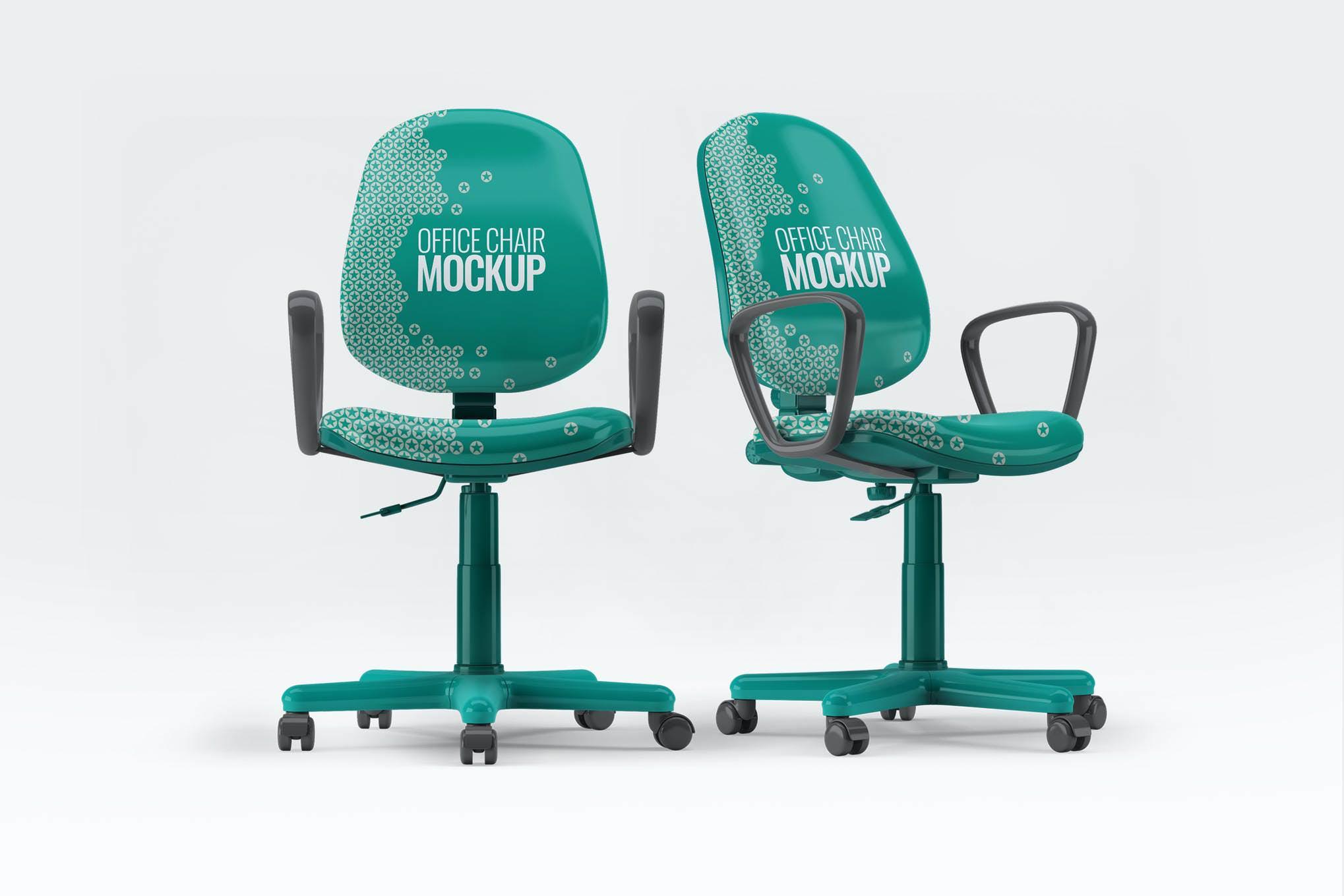 办公椅样机效果图插图(1)