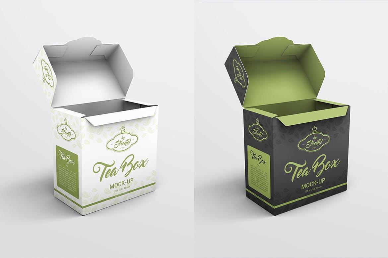 茶盒样机效果图插图(5)