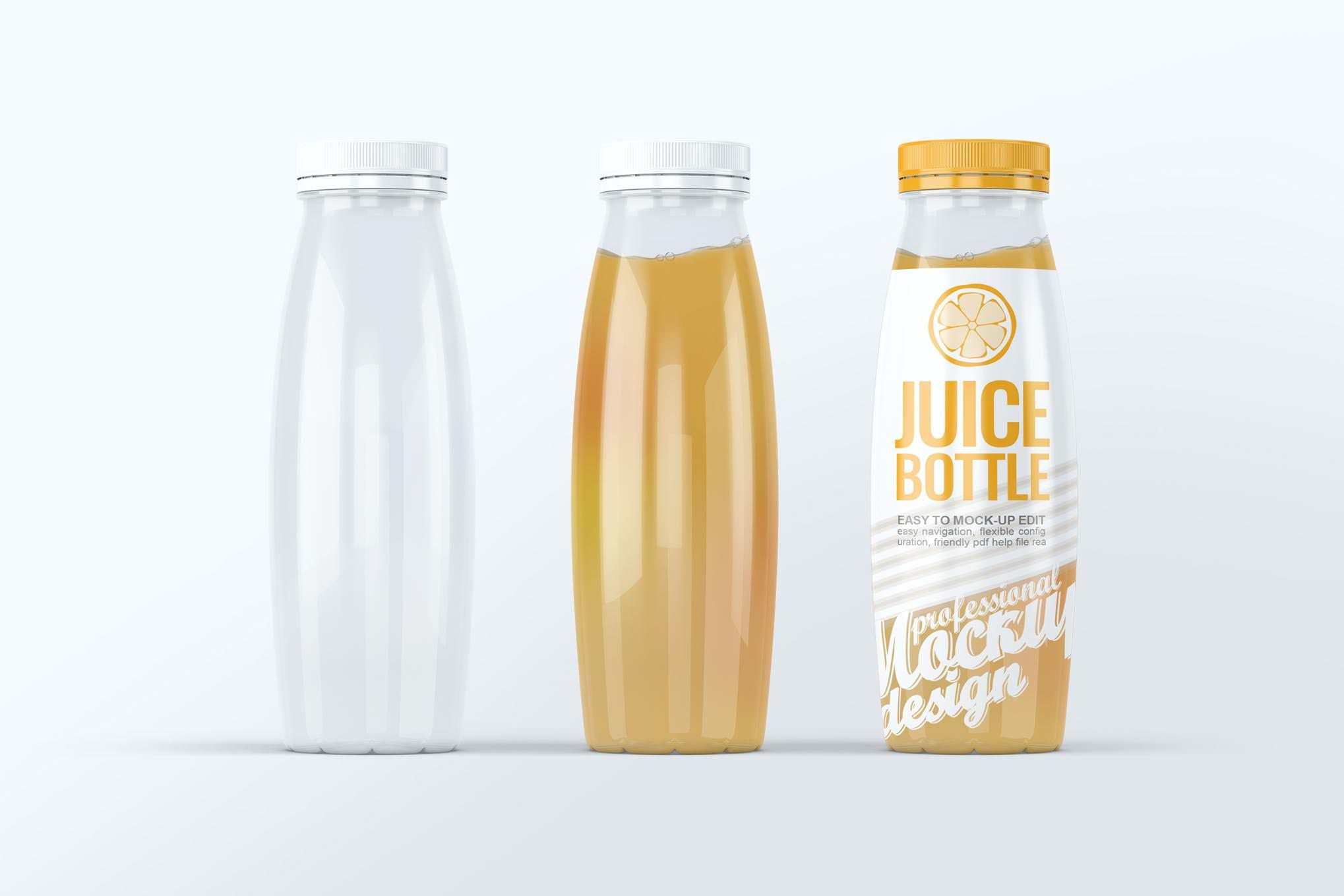果汁瓶样机效果图插图(1)