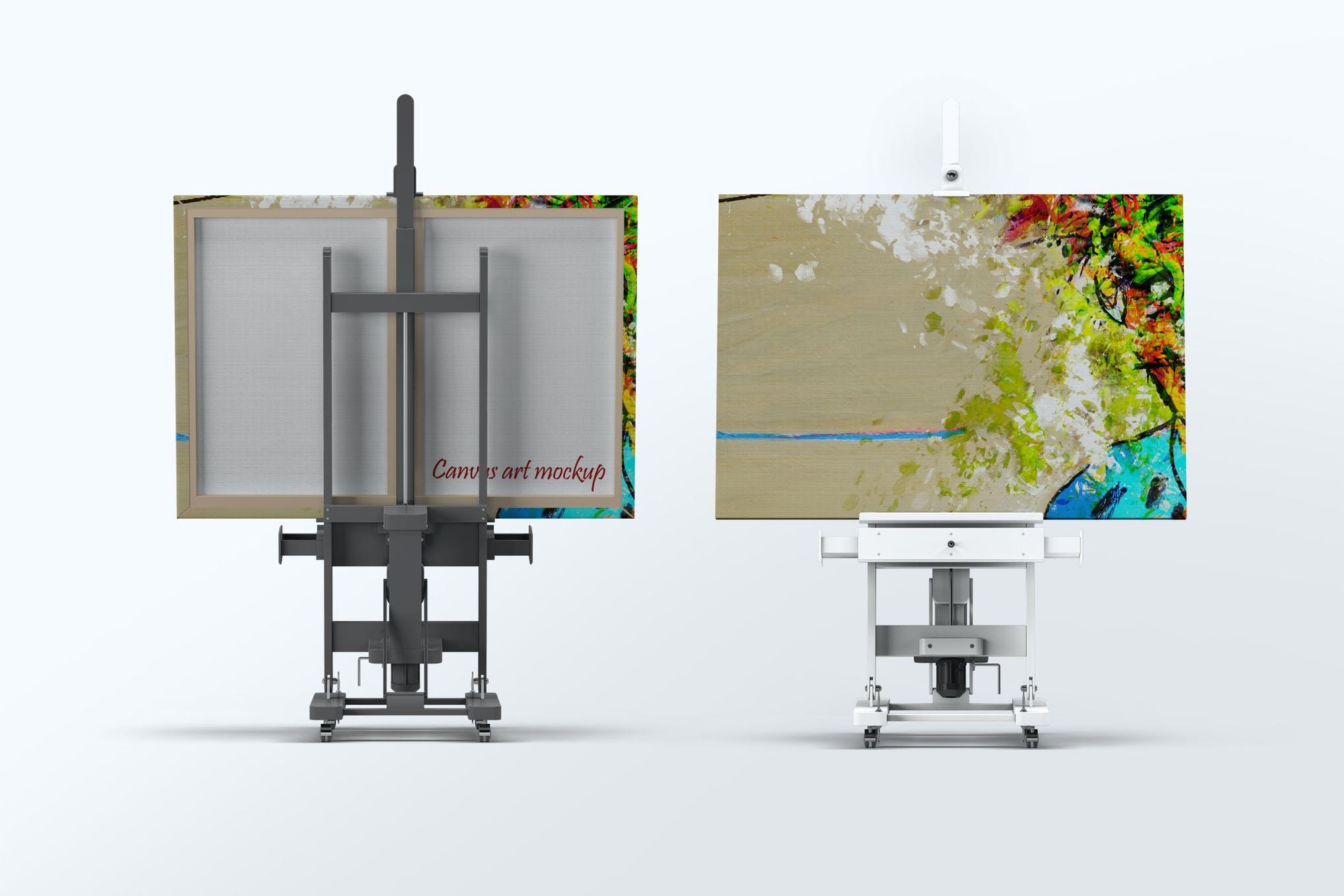 画板画架样机效果图插图(1)