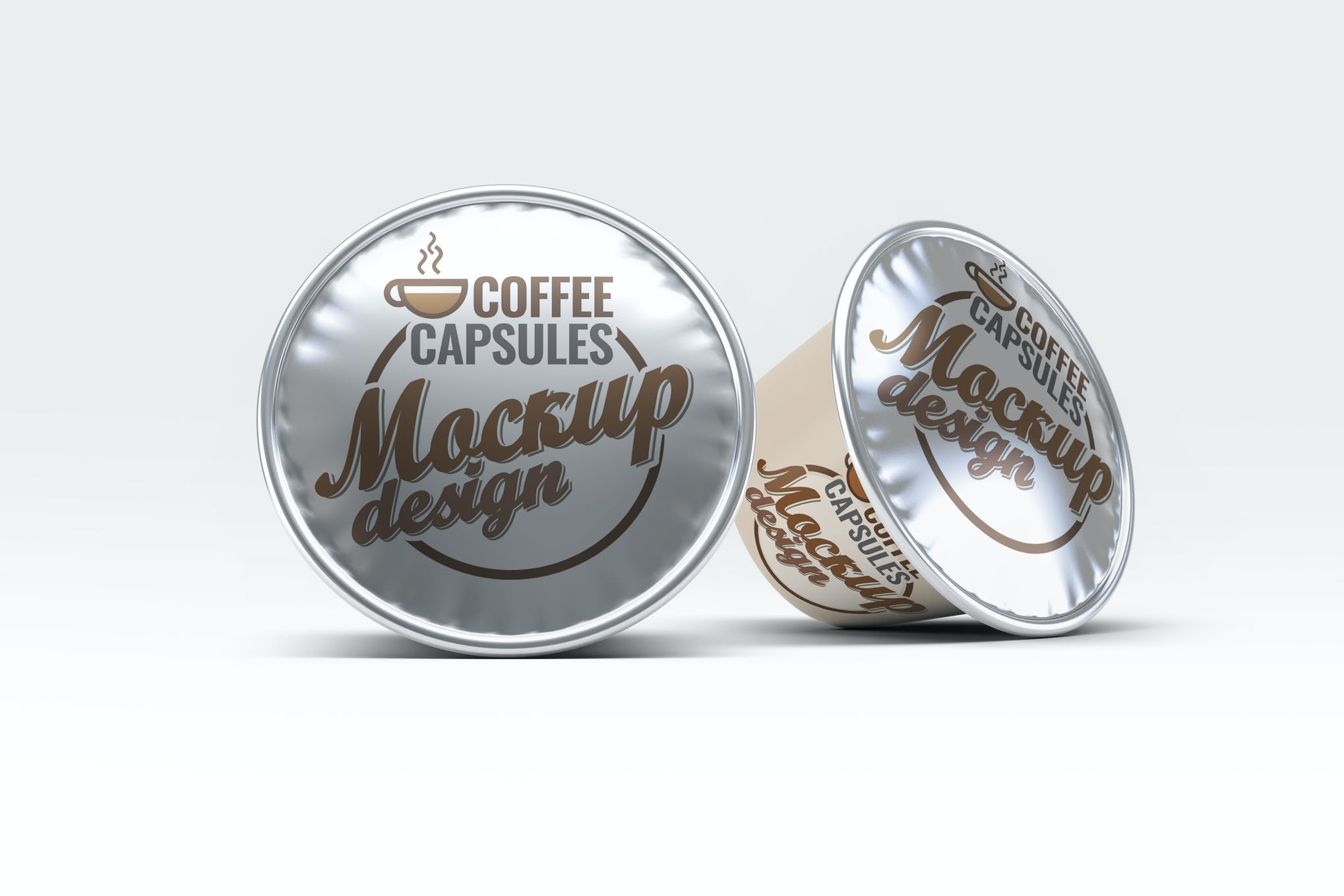 咖啡胶囊样机效果图插图(1)