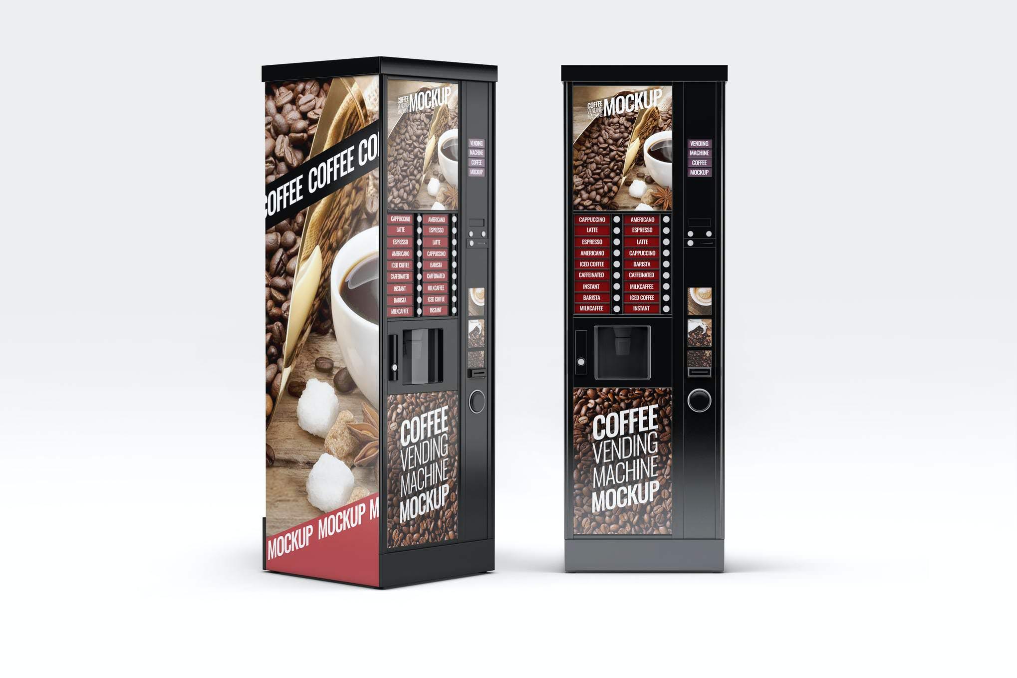 自动咖啡售卖机样机效果图插图(1)