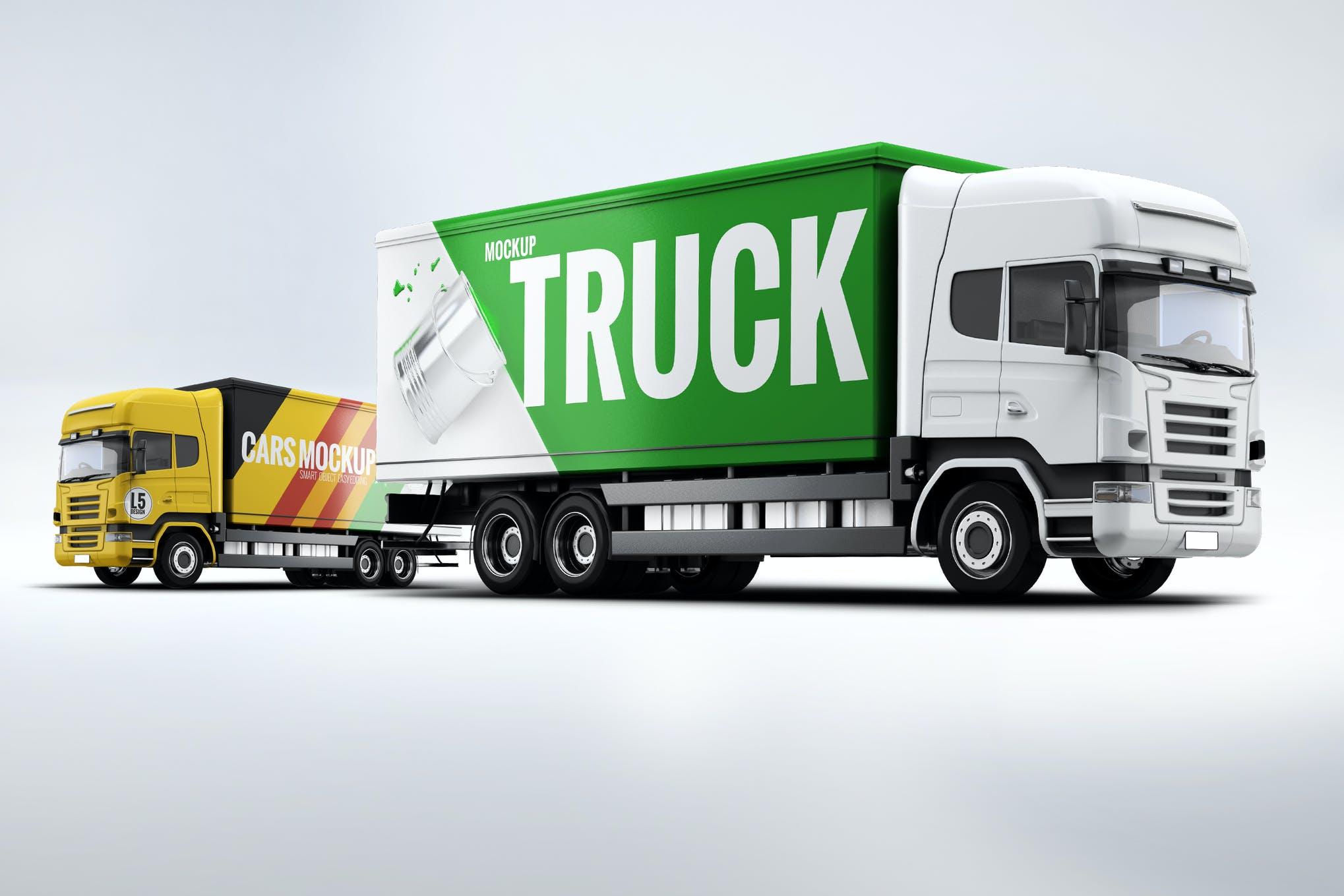 卡车样机效果图插图(1)