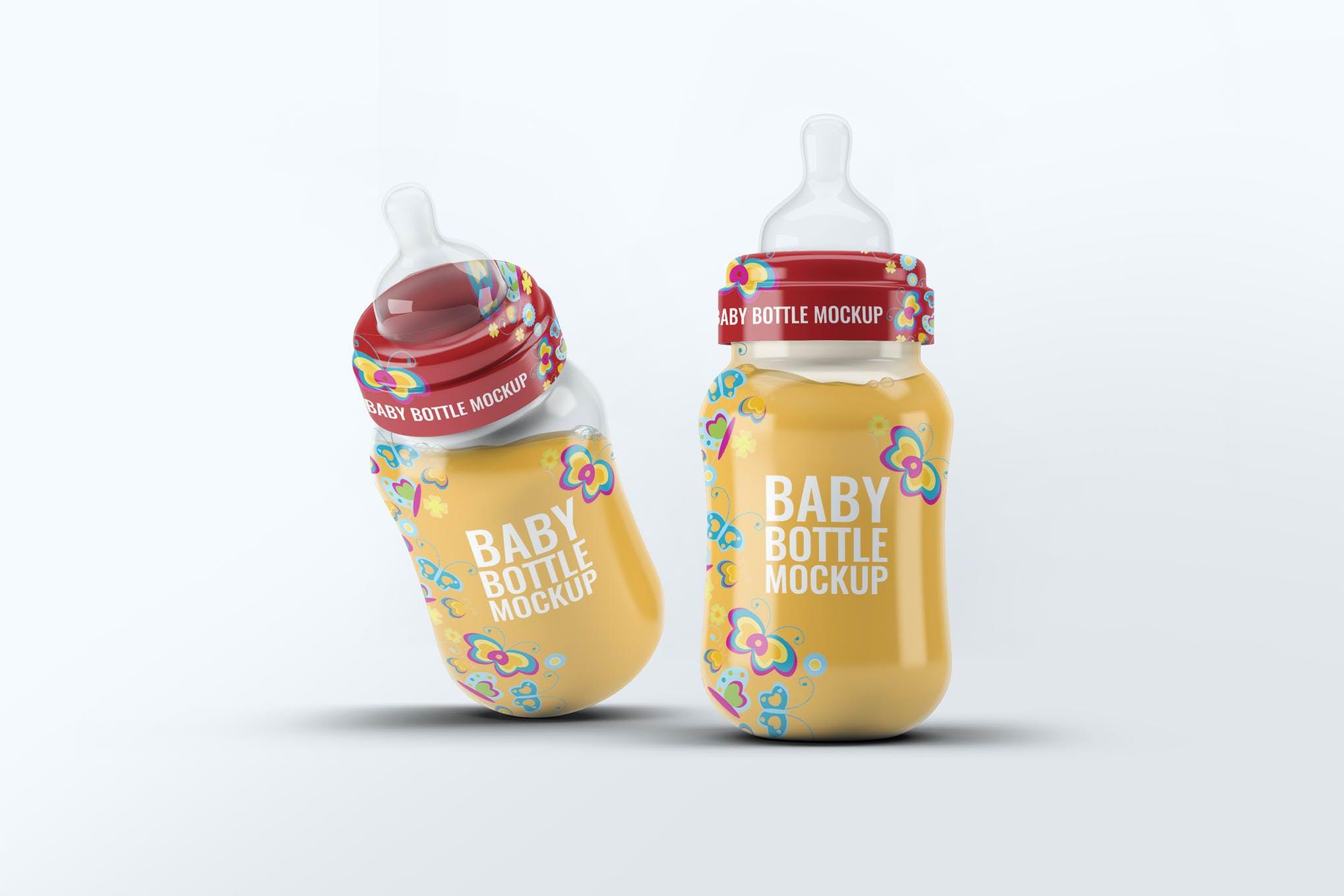 奶瓶样机效果图插图(1)