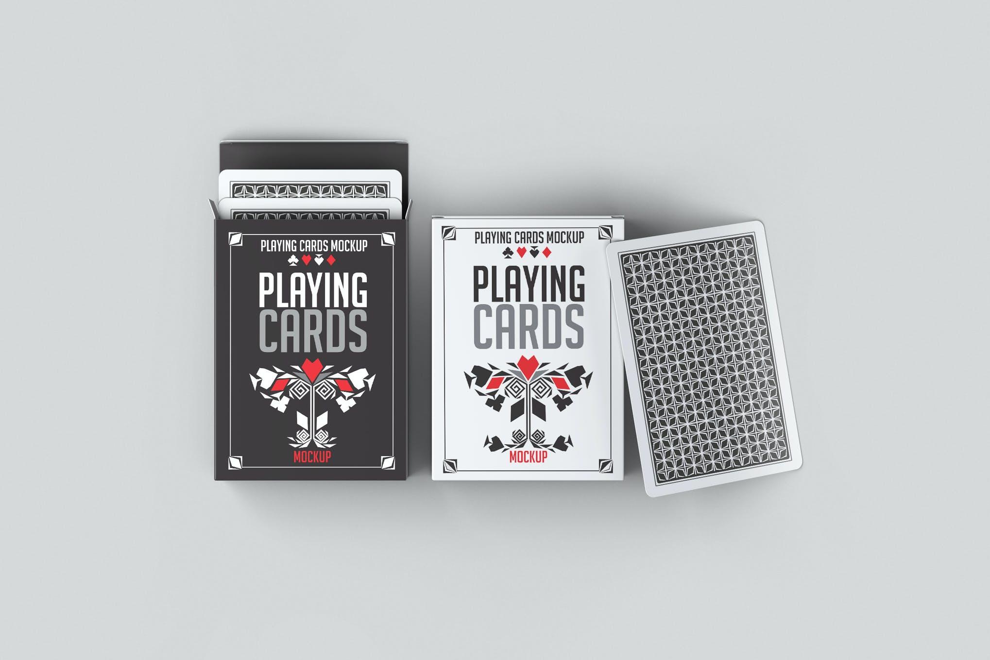 扑克牌盒样机效果图插图(1)