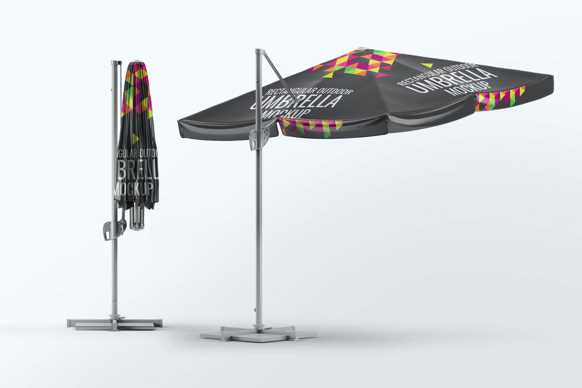 室外遮阳伞样机效果图插图(1)