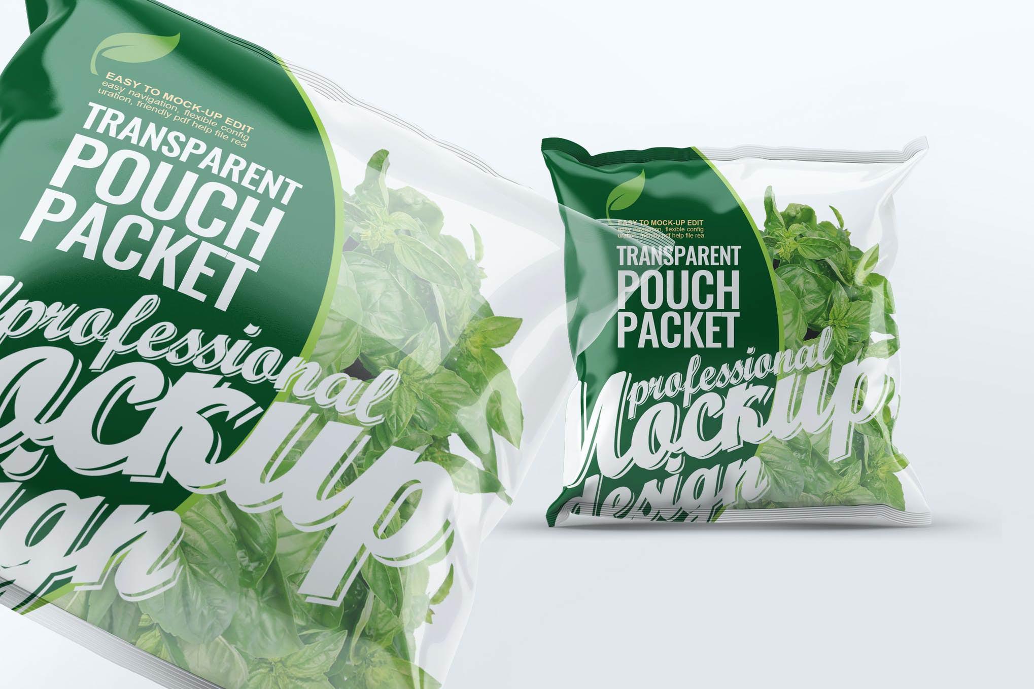蔬菜塑料包装袋样机效果图插图(1)