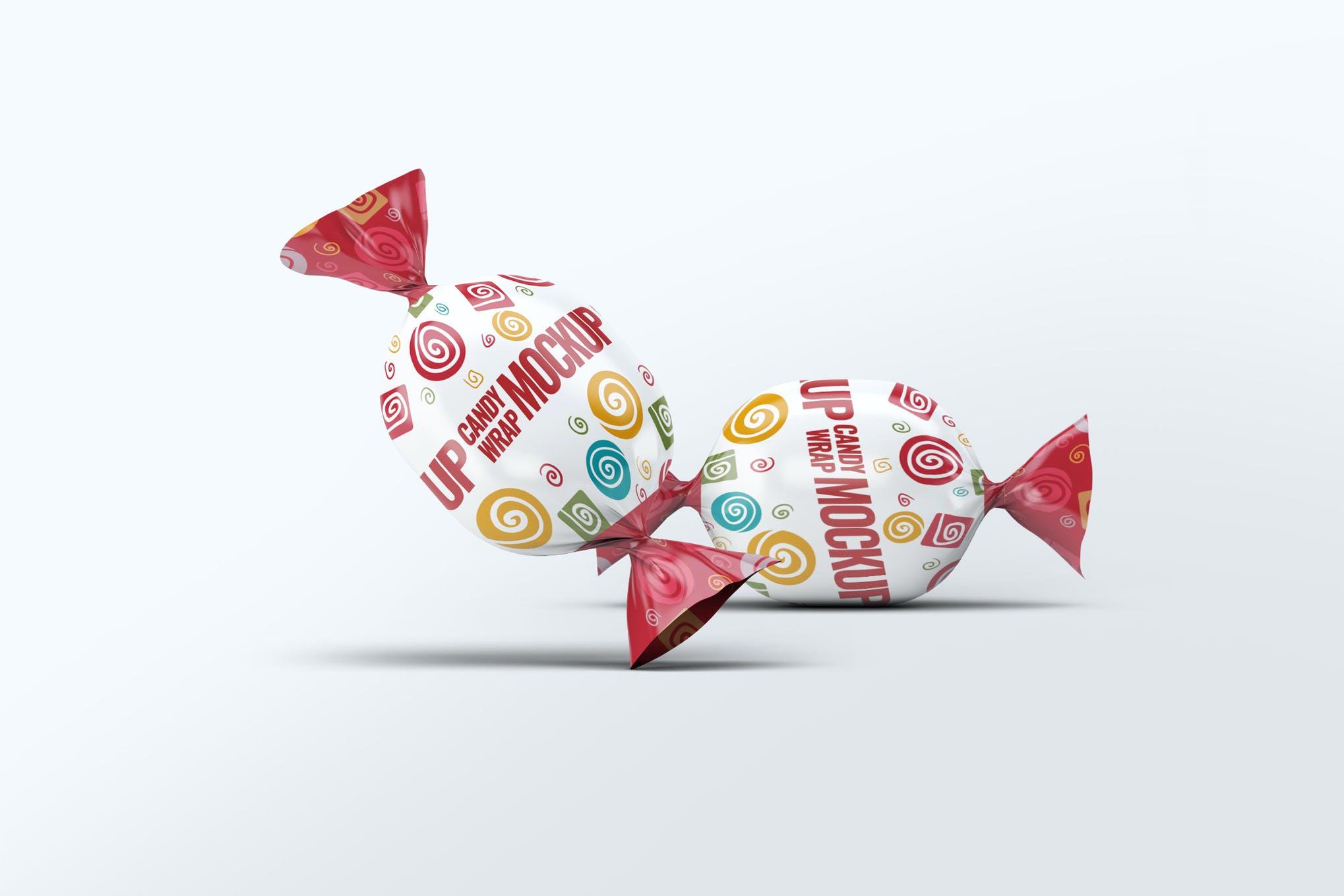 糖果包装样机效果图插图(1)