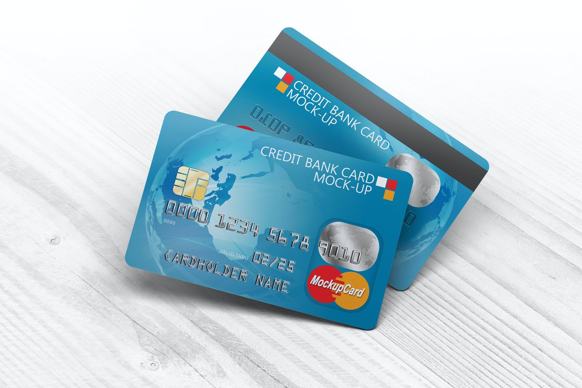 信用卡样机效果图插图(1)