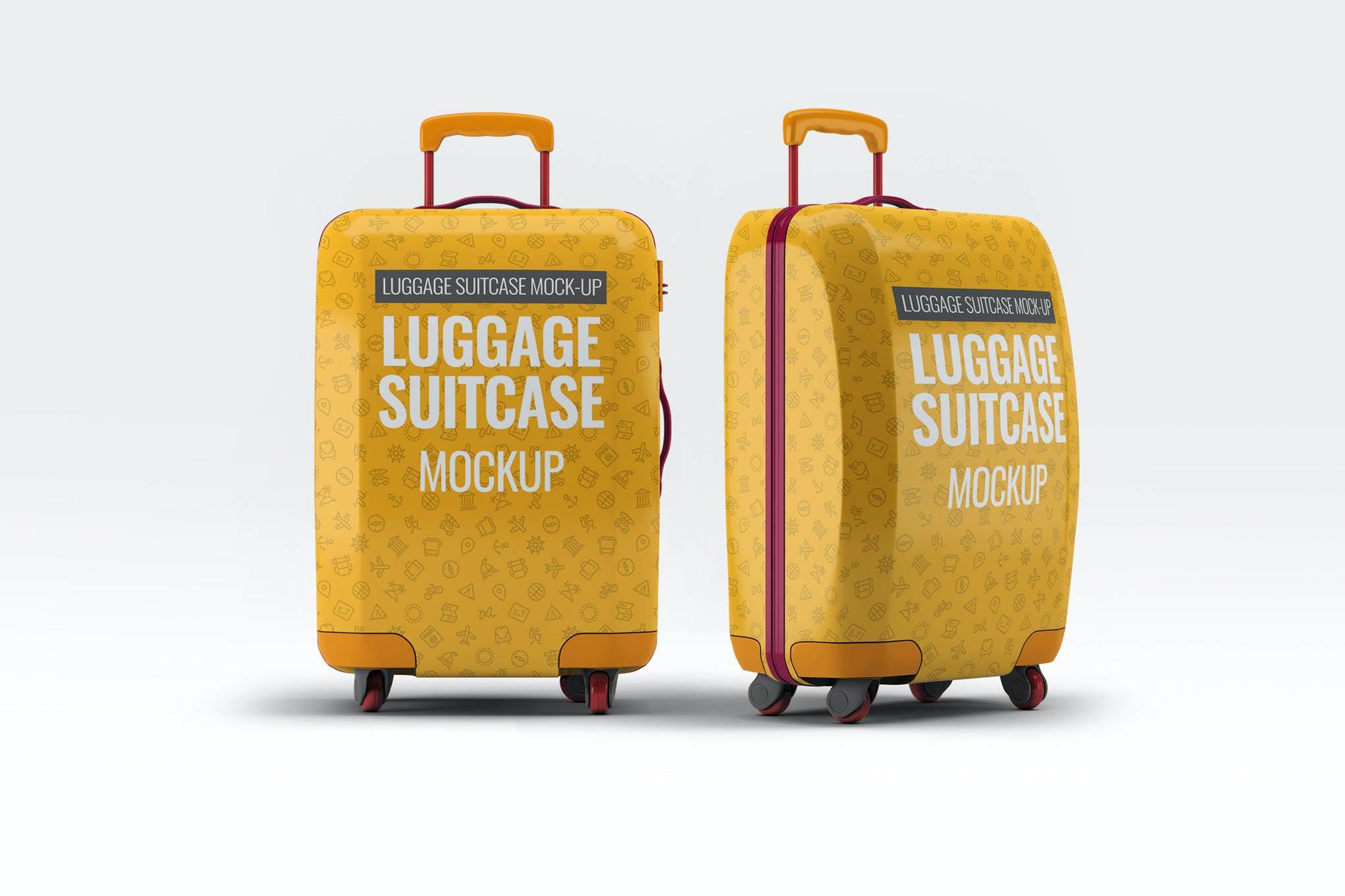 行李箱样机效果图插图(1)