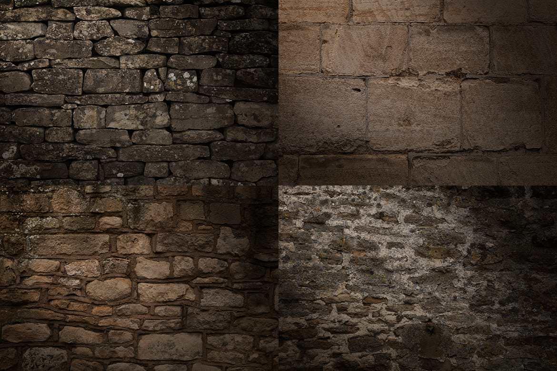 20套PS石墙纹理材质效果背景插图(3)