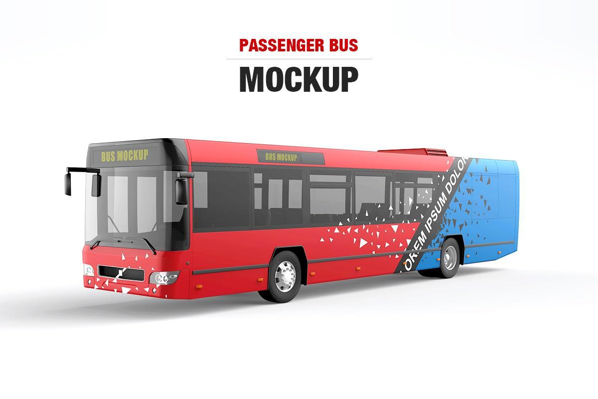 公交车样机效果图插图(1)