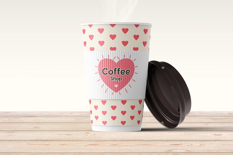 咖啡杯样机效果图插图(1)