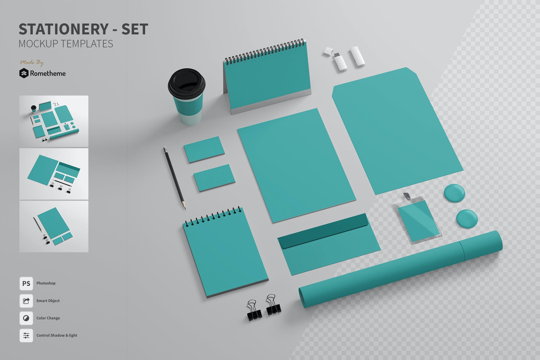 品牌VI效果图插图(1)