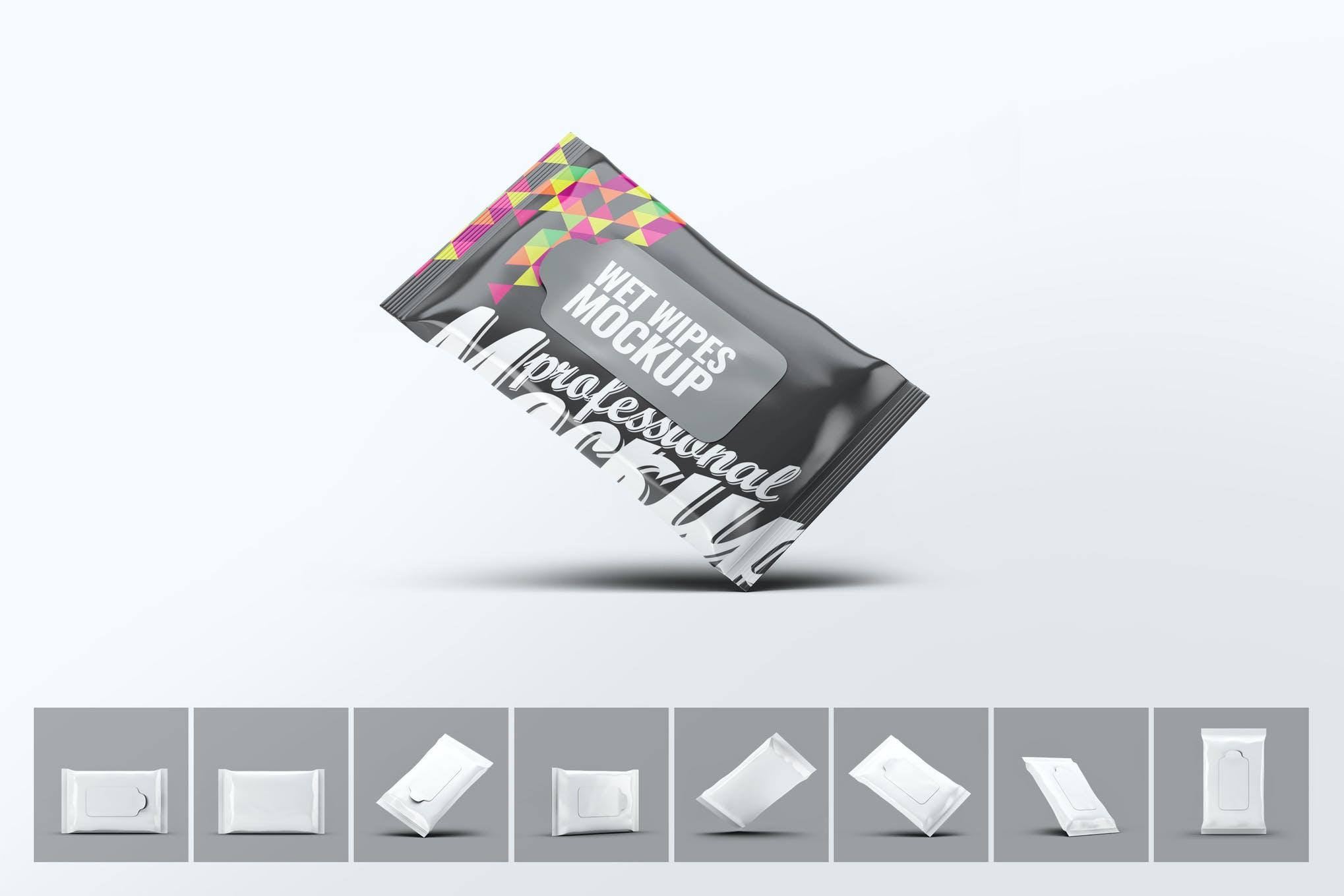 湿巾效果样机图插图(1)