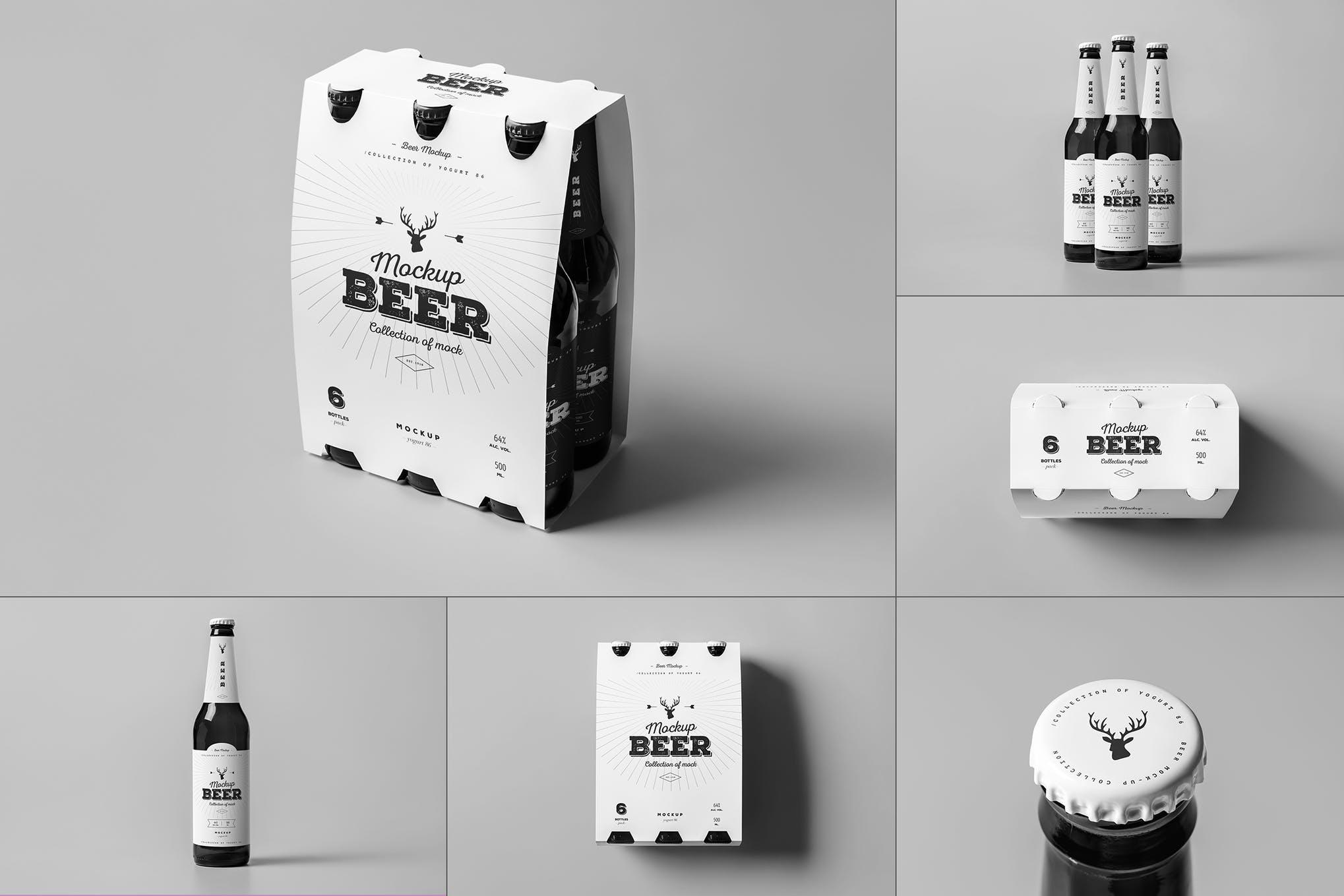 半打装啤酒瓶包装插图(1)