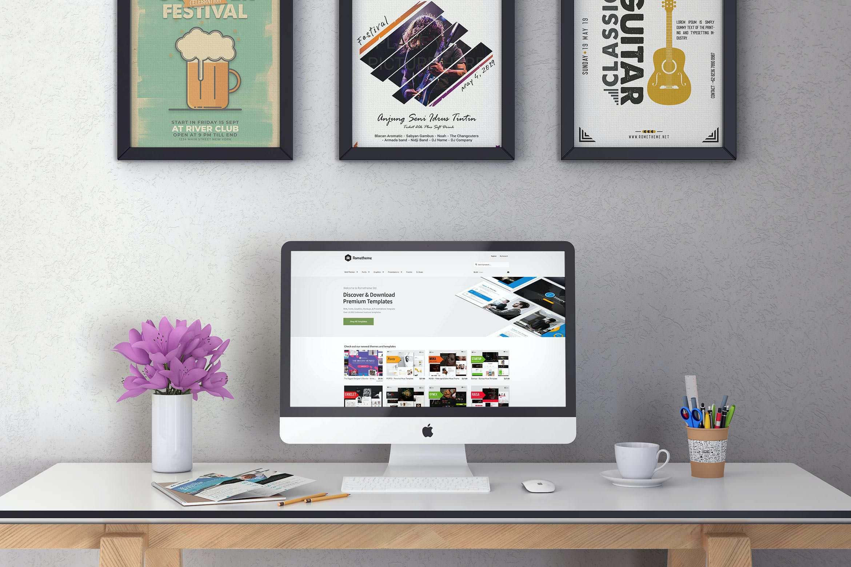 iMac样机效果图插图(1)