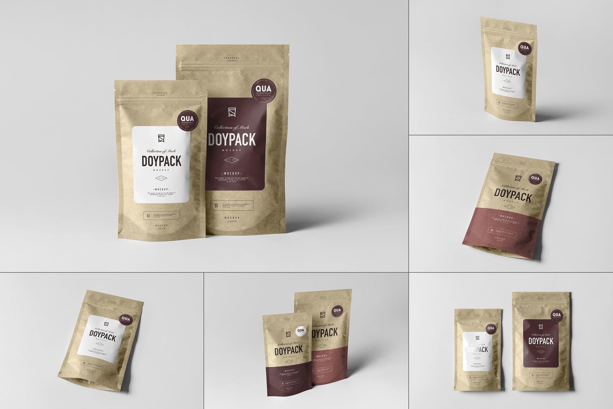可密封式茶叶食品包装袋 Ver.1 样机效果图插图(1)