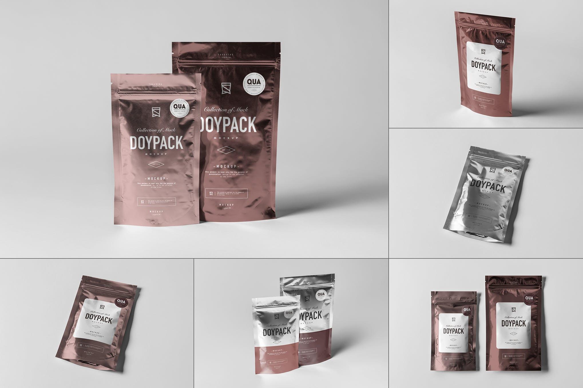 可密封式茶叶食品包装袋 Ver.2 样机效果图插图(1)