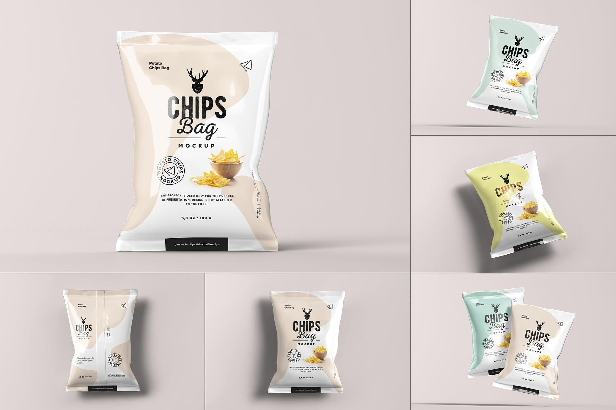 膨化食品包装袋样机效果图插图(1)