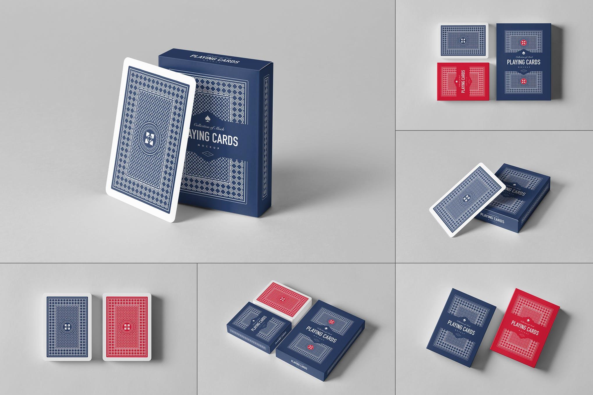 扑克牌样机效果图插图(1)