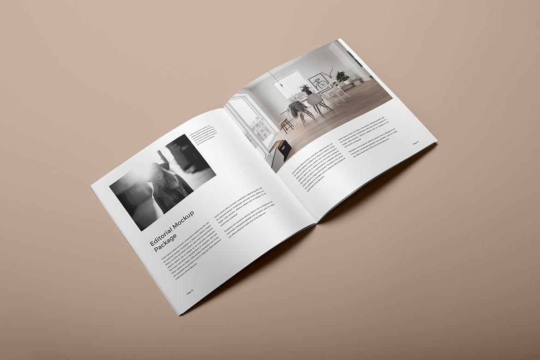 方形杂志宣传册