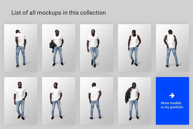 模特服装穿着效果Ver.11