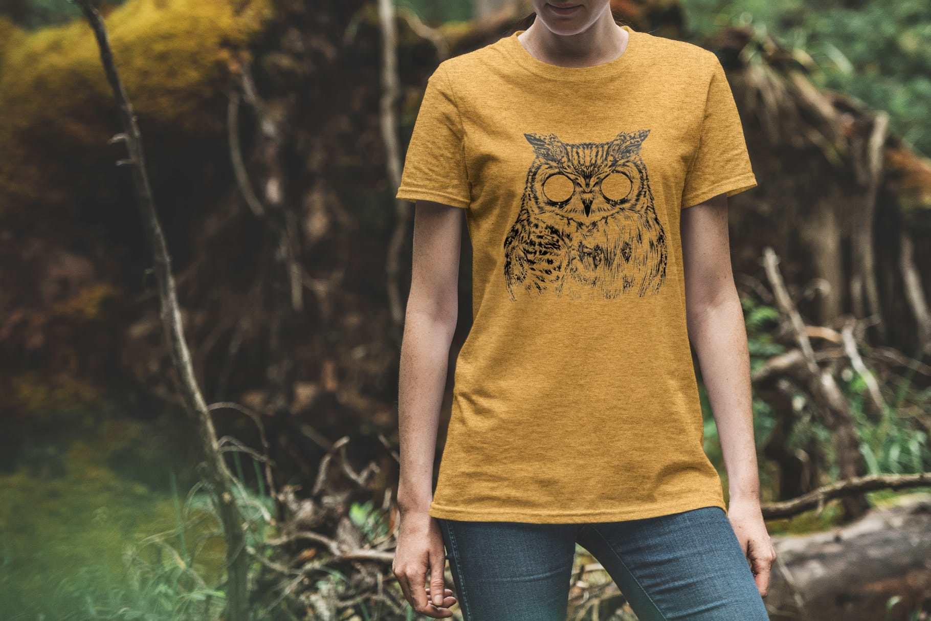 自然风格短袖T恤衫套装