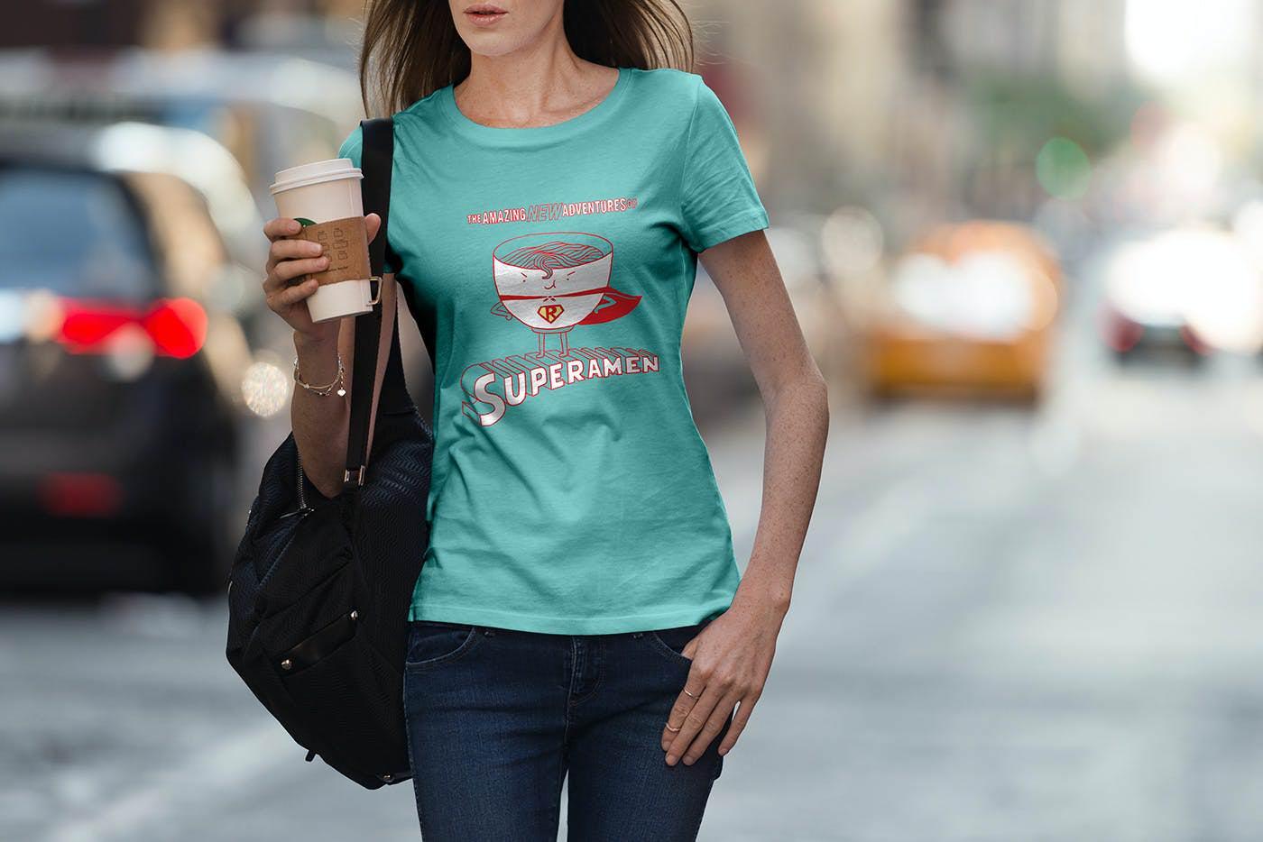 URBAN风格短袖T恤衫套装2