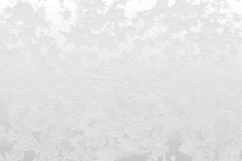 10种冬天白色雪花冰冻背景