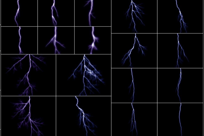 75种闪电效果图层v2