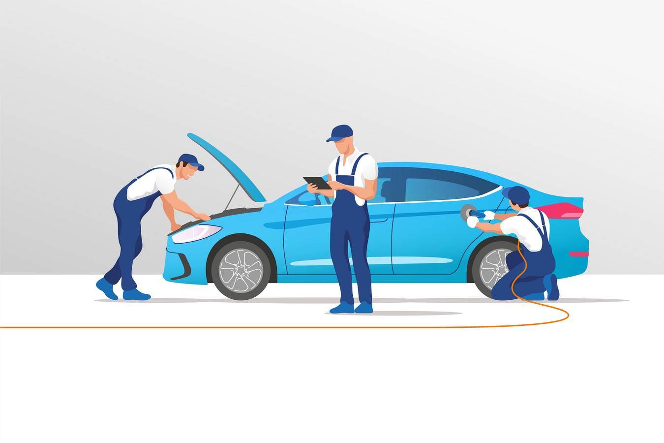 汽车维修服务