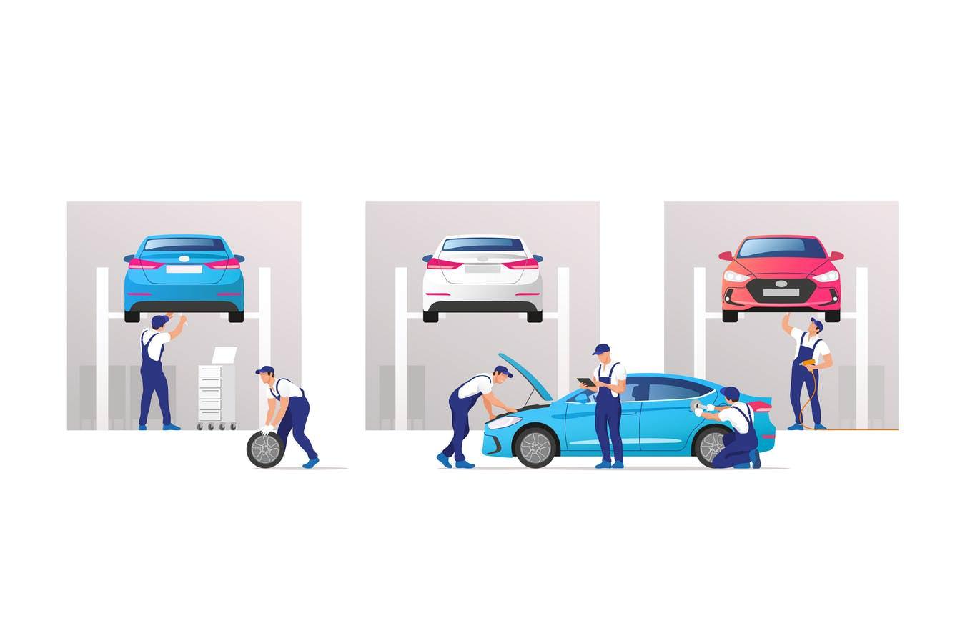 汽车维修修理服务