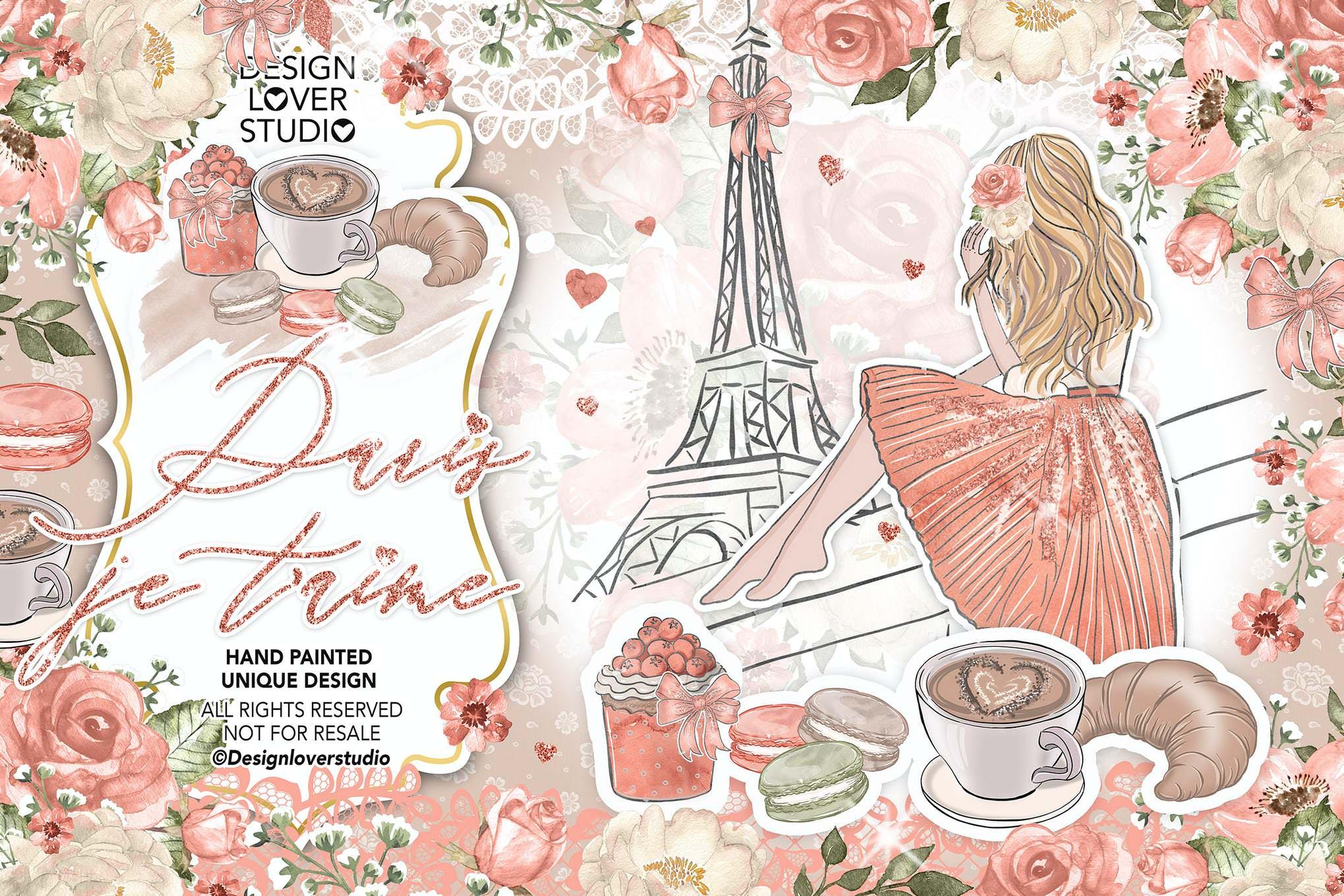 巴黎与女孩