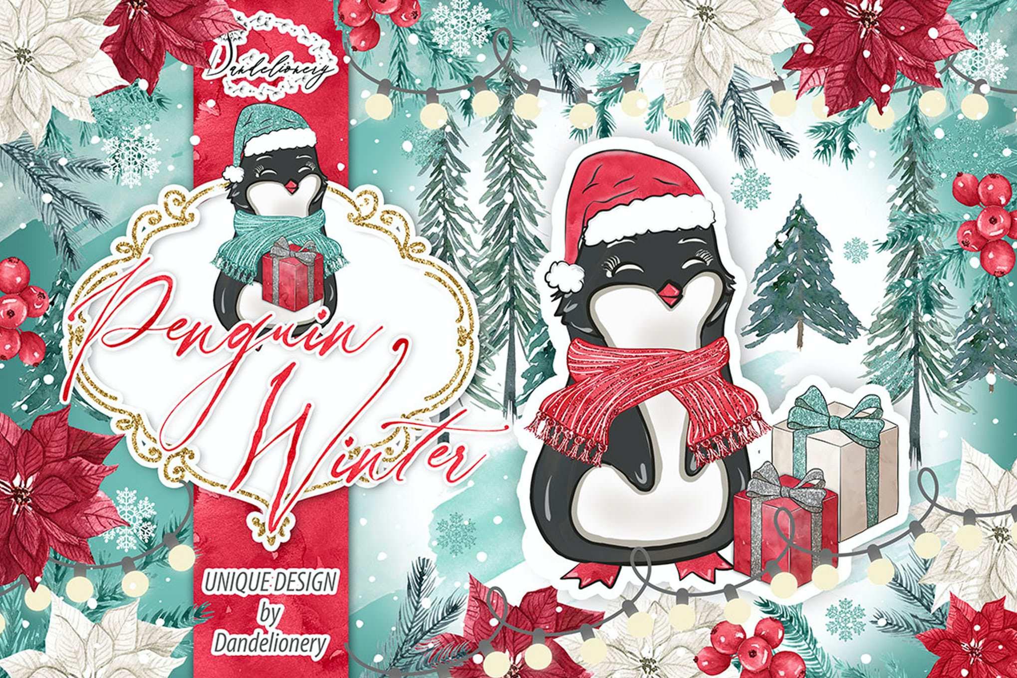 冬季与企鹅