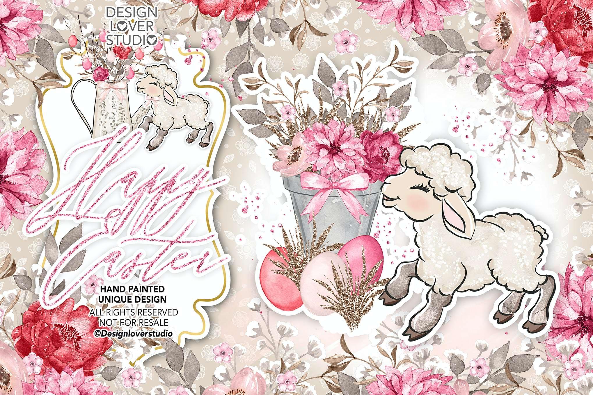 复活节也小羊羔
