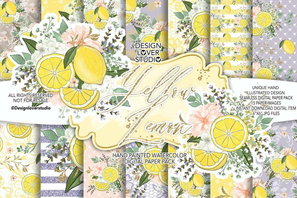 黄色柠檬套组