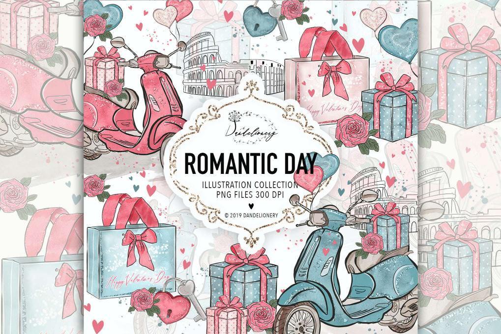浪漫的一天
