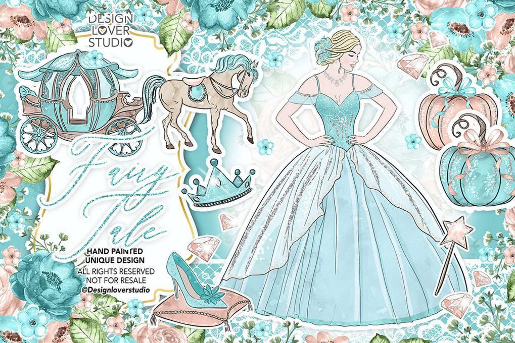 梦幻公主与马车