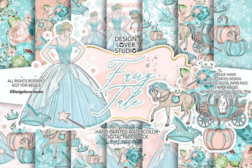 梦幻公主与马车套图