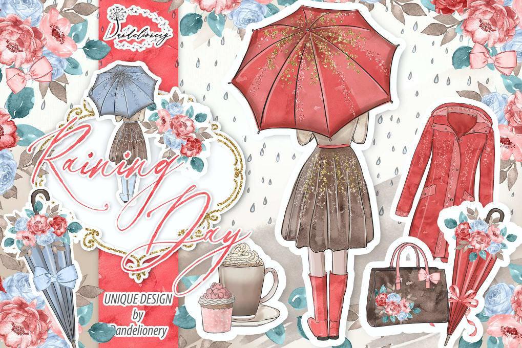 雨天南瓜女孩
