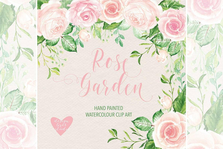 粉色玫瑰园