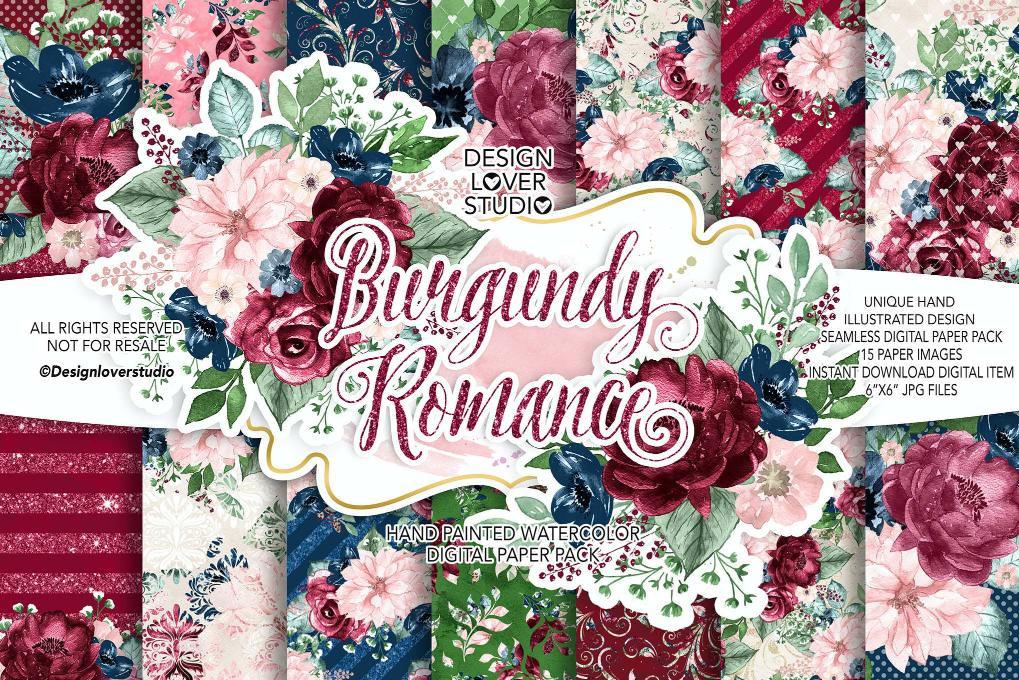 浪漫花朵花圈包装
