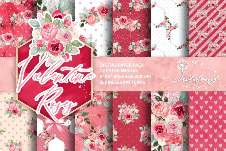 玫瑰情人节套组