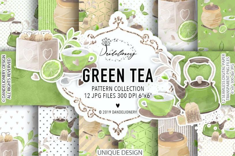 绿茶元素套组