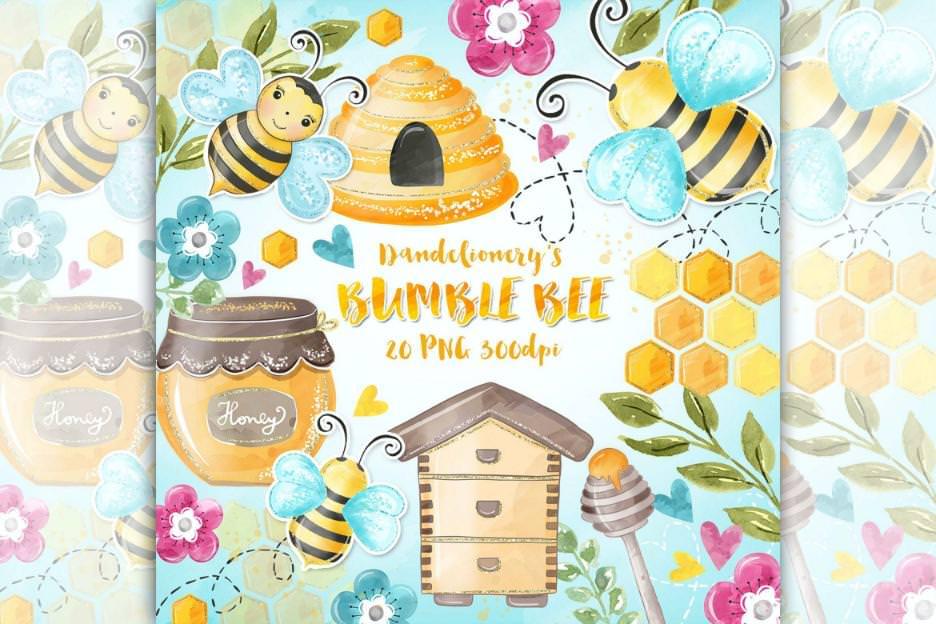 可爱小蜜蜂