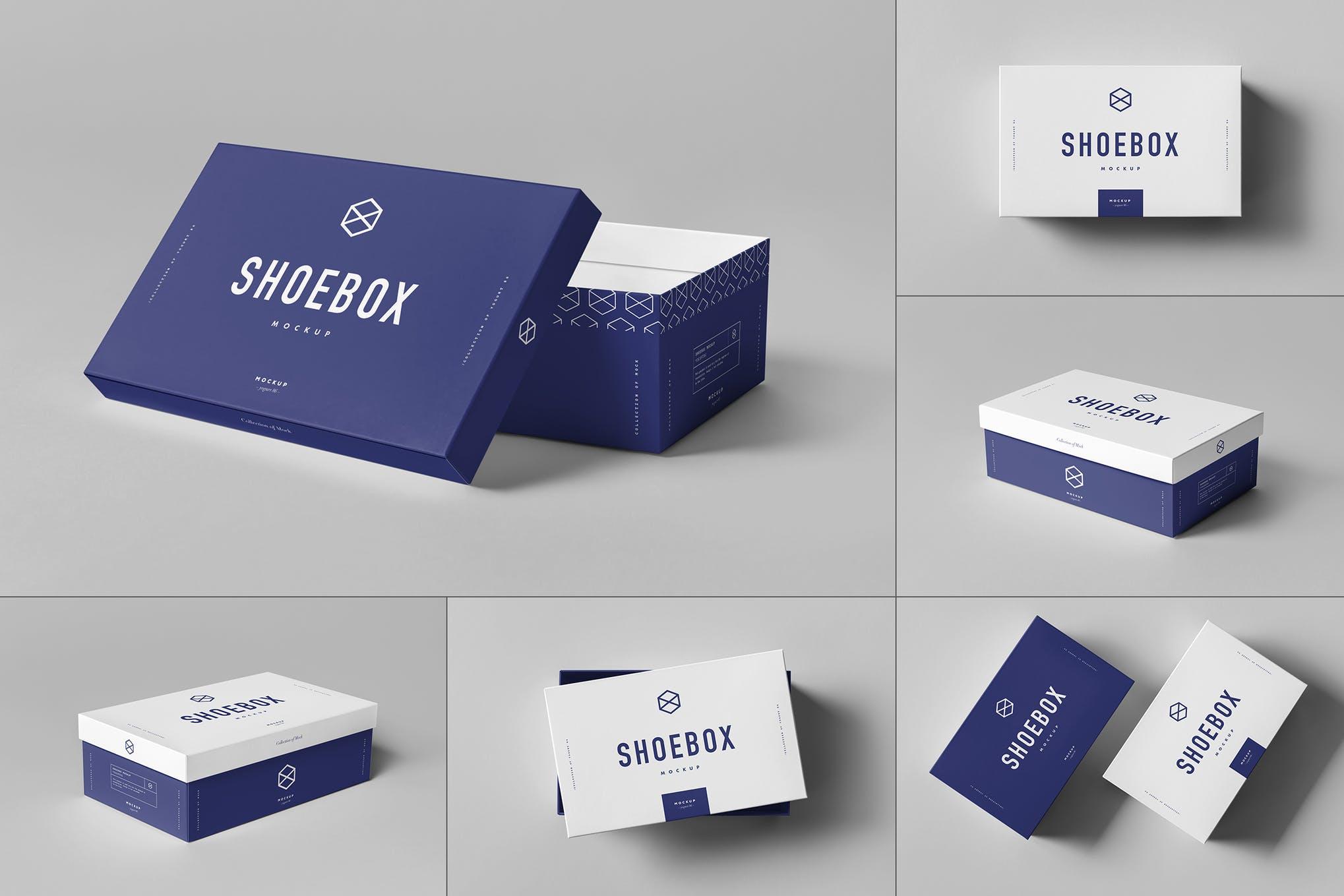 长方形鞋盒