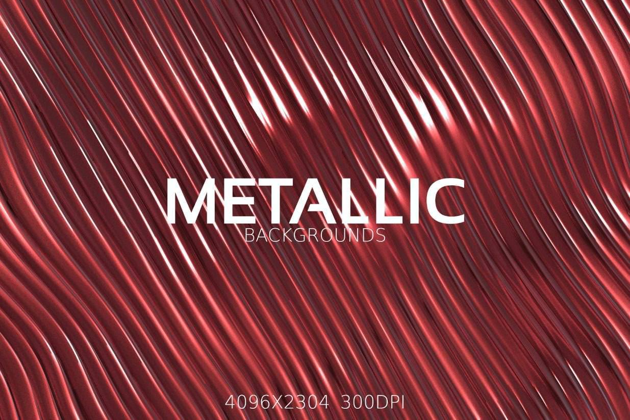 6种金属流动纹理效果纹理背景