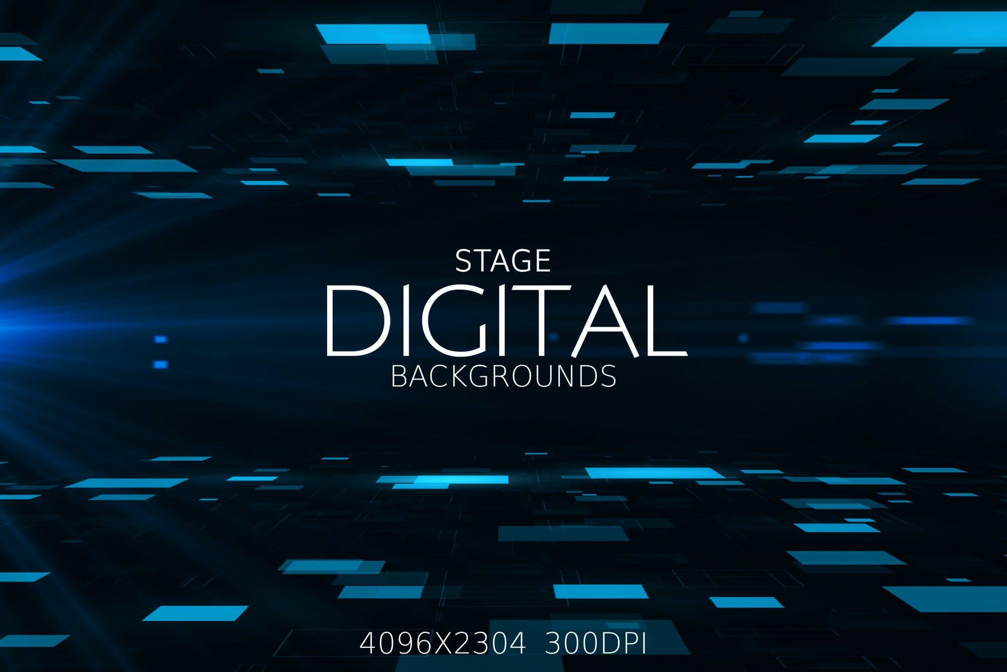 7种电子舞台效果纹理背景