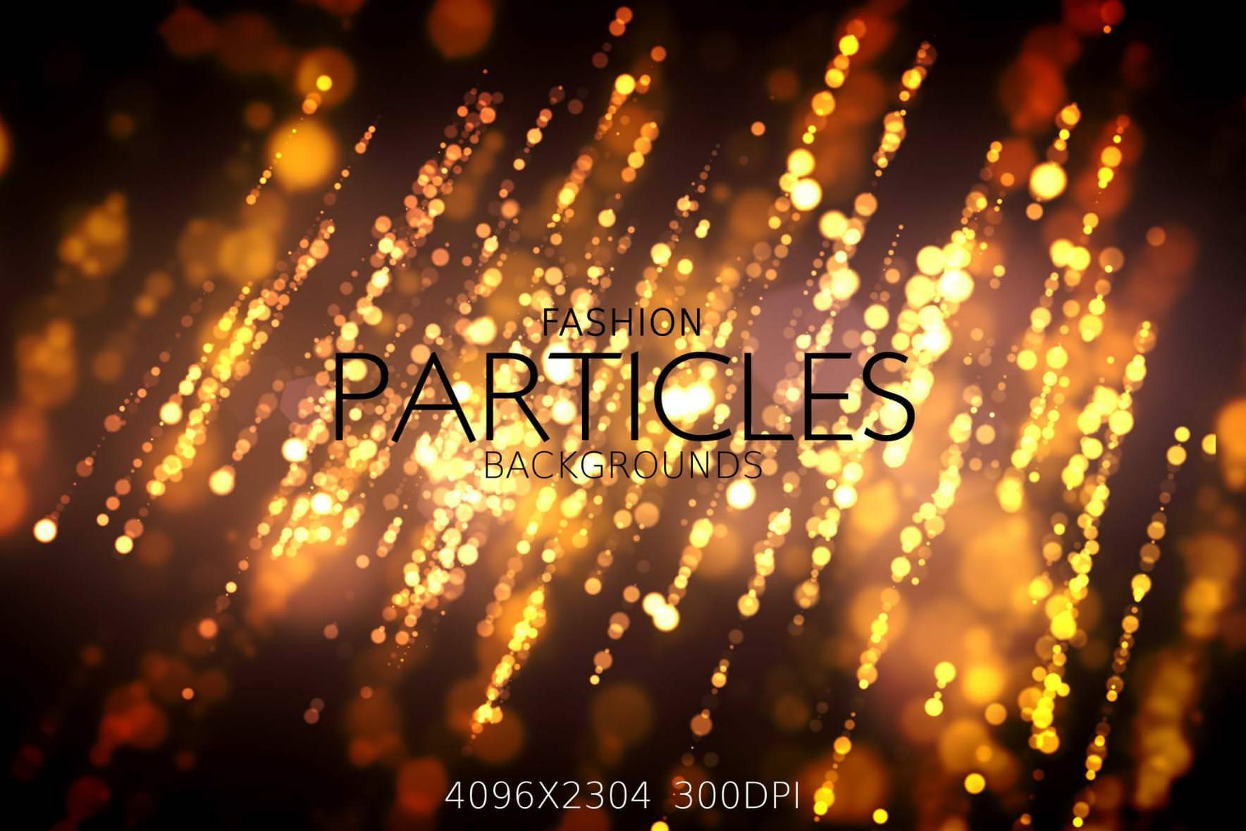 16种派对灯光粒子效果纹理背景